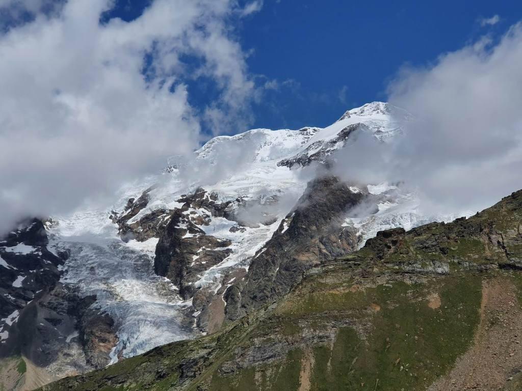 Il Massiccio del Rosa da Punta Telcio (2.833 m)